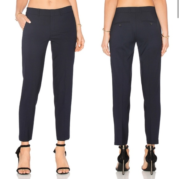 Vince Navy Tapered Pants